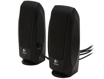 Logitech S120 Speakers Black, ( RMS 2.2W, 2x1.1W satel. ), 980-000010, (boxe sistem acustic/колонки акустическая сиситема)