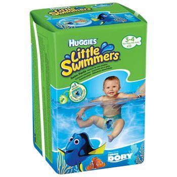купить Подгузники для плавания Huggies Little Swimmers 3-4 (7-15 kg) 12 шт в Кишинёве