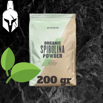 Порошок органической спирулины ( Organic Spirulina ) - 200 Gr