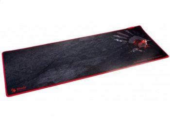 Коврик для игровой мыши Bloody B-088S, 800 x 300 x 2 мм, ткань / резина, нескользящая строчка, черный / красный