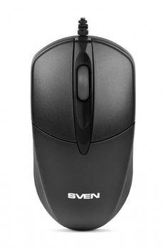 Mouse SVEN RX-112, Optical Mouse, 800 dpi, USB, Black