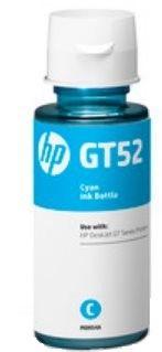 HP GT52 Cyan Original Ink Bottle, DeskJet G5810/G5820
