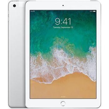 """Apple 9.7"""" iPad (Early 2018, 128GB, Wi-Fi + 4G LTE, Silver)"""