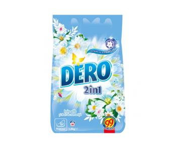 купить Стиральный порошок Dero 2in1 Белый Ирис и Ромашка, 1.8  кг. в Кишинёве