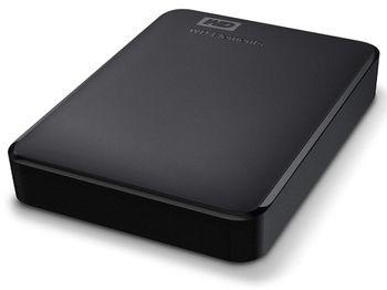 """4,0 ТБ (USB3.0) 2,5 """"Портативный внешний жесткий диск WD Elements (WDBU6Y0040BBK-WESN)"""", черный"""