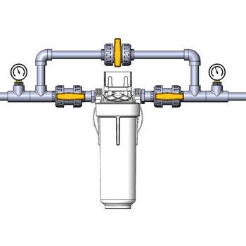 """купить Фильтр механической очистки для горячей воды Ecosoft 1/2"""" в Кишинёве"""