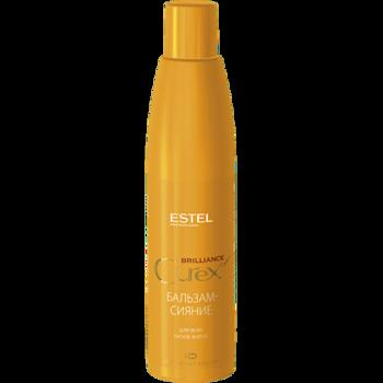 Balsam-strălucire pentru toate tipurile de păr, ESTEL Curex Brilliance, 250 ml.