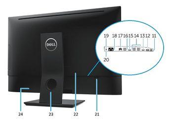 cumpără All in One Dell OptiPlex 7440  CPU Intel Quad Core i5-6600 3.30 - 3.60GHz, RAM 8GB DDR4, 120 GB SSD  , Windows 10 Pro în Chișinău