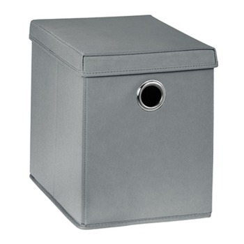 cumpără Cutie de depozitare Boon 260x385x320 mm, gri în Chișinău