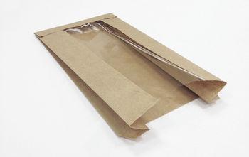 Бумажный Пакет 18*36  с окошком