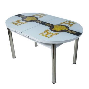 Стол раздвижной Овальный 1239