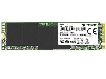 .M.2 NVMe SSD 2.0TB  Transcend 220S [PCIe 3.0 x4, R/W:3500/2700MB/s, 340/310K IOPS, SM2262, 3DTLC]