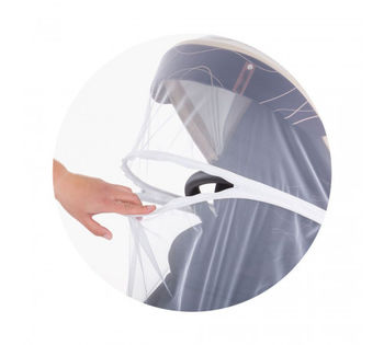 Сетка москитная для коляски Chipolino White