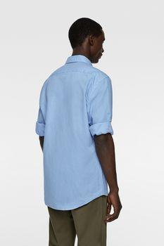 Рубашка ZARA Голубой zara 7545/402/400