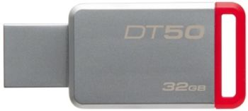 32GB USB3.1 Kingston DataTraveler 50  32GB Silver/Red