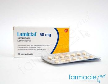купить Lamictal™ comp. 50 mg N28 в Кишинёве