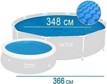 Солнечное покрывало для бассейна Intex (29022)