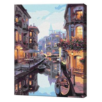 Канал в Венеции, 40х50 см, картина по номерам  BS7673