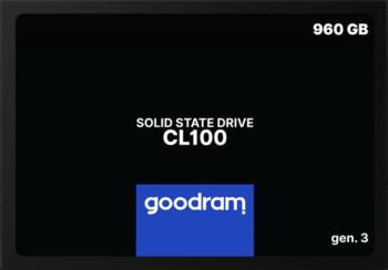 """купить 2.5"""" SSD 960GB  GOODRAM CL100 Gen.3 в Кишинёве"""