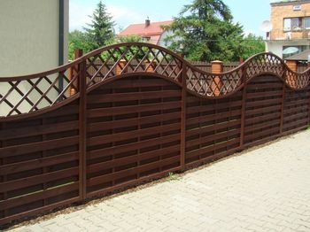 купить Деревянный забор AGATA A в Кишинёве