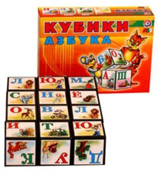 "Технок-Интелком Кубики ""Азбука"""