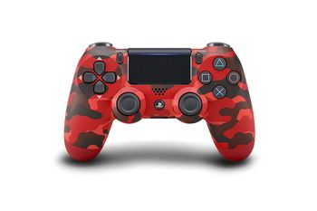 Controller wireless SONY PS DualShock 4 V2 Red Camouflage