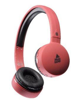 Наушники CellularLine MusicSound Red