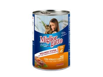 купить Miglior gatto паштет из телятины с морковью в Кишинёве