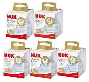 купить Соска силиконовая NUK NS для молока М (0-6 мес) 2 шт в Кишинёве