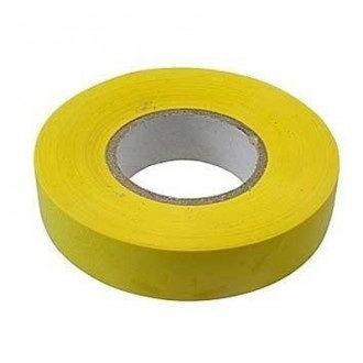 купить Изолента ПВХ 15*20 желтая (250 шт) (210255) в Кишинёве