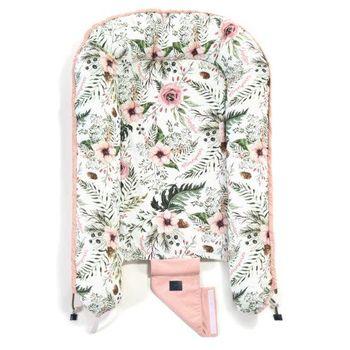 купить Бебинест La Millou Wild Blossom – Powder Pink в Кишинёве
