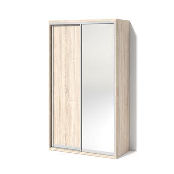 Шкаф купе 1200 1 зеркало Дуб сонома