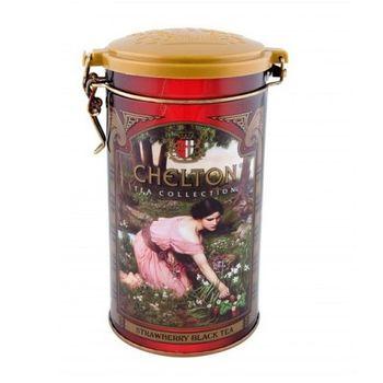 Английский черный чай с земляникой Chelton English Royal 120гр