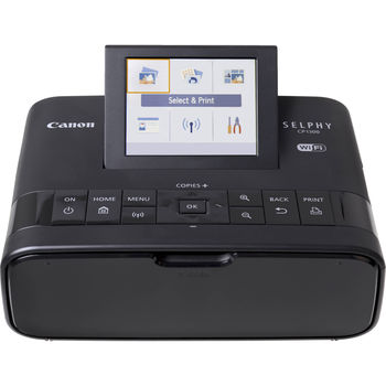 Printer Canon CP1300 Black, WiFi, Compact Photo, 300x300 dpi, Size: Postcard (148 x 100mm), Letter, Credit Card, Mini Stickers, USB 2.0, Consumables: KP-36IP, KP-72IN, KP-108IN, KL-36IP, KC-36IP, KC-18IF, KC-18IL