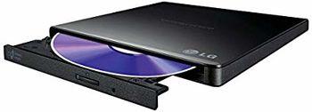 купить External Slim DVD-RW Drive LG GP57EB40, Black в Кишинёве