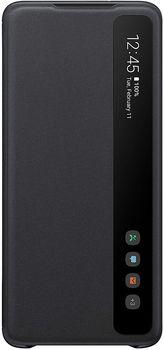 купить Чехол для моб.устройства Samsung Galaxy S20 Plus,EF-ZG985 Clear View Cover Black в Кишинёве