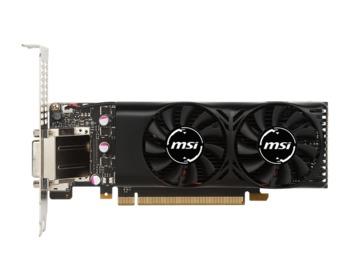 cumpără MSI GeForce GTX 1050 2GT LP /  2GB DDR5 128Bit 1455/7008Mhz, DVI, HDMI, DisplayPort, Dual fan, Military Class 4 (MIL-STD-810G), Low profile design, Retail în Chișinău
