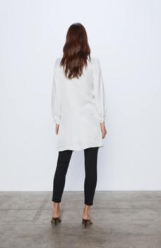 Блуза ZARA Белый 1971/184/250