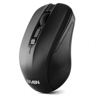 SVEN RX-270W  Wireless, Optical Mouse, 2.4GHz, Nano Receiver, 800/1200/1600 dpi, USB, Black