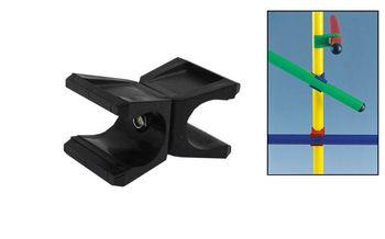 Клипса для крепления гимнастической палки (6.5x4 см, для палок d=2.5 см) C-4599 (2487)