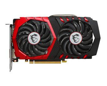MSI GeForce GTX 1050 GAMING X 2G /  2GB DDR5 128Bit 1556/7108Mhz (OC Mode), DVI, HDMI, DisplayPort, Dual fan - TWIN FROZR VI (Zero Frozr/Airflow Control Technology), TORX 2.0 FAN, Gaming App, Retail