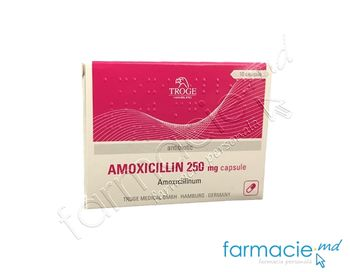 купить Amoxicilina 250 mg caps. N10 (Troge) в Кишинёве