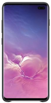 купить Чехол Samsung Galaxy S10 Plus (EF-VG975) Leather Cover Galaxy,  Black в Кишинёве