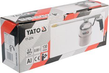 купить Пистолет моечный пневматический (бак 0.85л) YATO 2374YT в Кишинёве