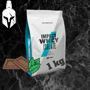 Изолят сывороточного белка - Impact Whey Isolate - Шоколадная мята - 1 KG
