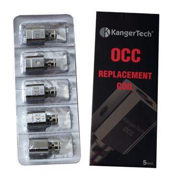 купить KangerTech 1,2 omh OCC (Topbox / Subvod / Subtank ) 1,2 omh в Кишинёве
