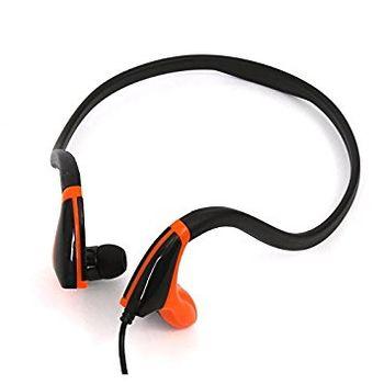 Freestyle FH1019BO  In-ear earphones + mic sport, black/orange[42442]