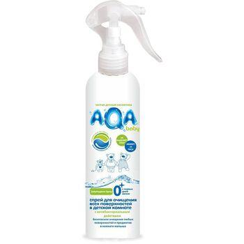 купить AQA baby Спрей для очищения всех поверхностей в детской комнате 300 мл 218658 в Кишинёве