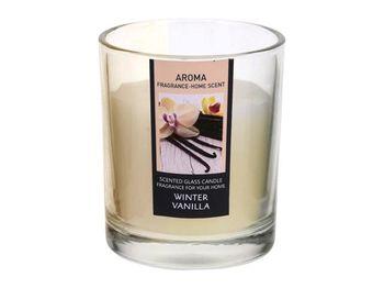 """Свеча ароматизированная в стакане """"ваниль"""" 6X5cm"""