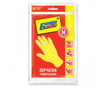 купить Перчатки хозяйственные универсальные Бонус, M в Кишинёве
